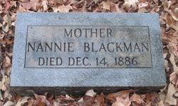 Nancy F. Nannie <i>Crawley</i> Blackman