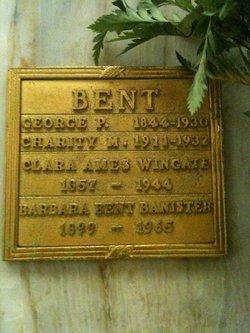Clara Ames <i>Wingate</i> Bent