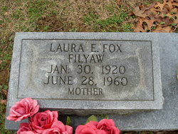 Laura Elizabeth <i>Fox</i> Filyaw