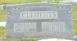 Ada Analisa <i>Fowler</i> Clements