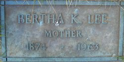Bertha Kate <i>Washburne</i> Lee