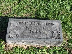 Shirley J Irvin