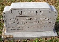 Mary Elizabeth <i>Collier</i> Brown