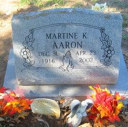 Martine K. Aaron