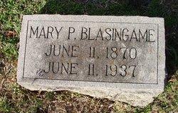 Mary Panthria Pinkey <i>Hagood</i> Blasingame