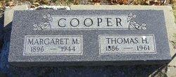 Margaret M Cooper