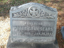 Rev Peter Gray Sears