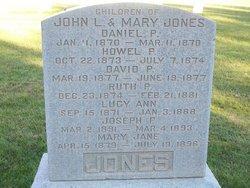 Ruth P Jones