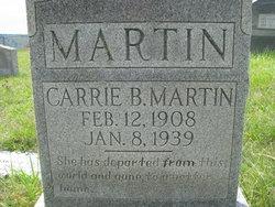 Carrie B. <i>Simpkins</i> Martin