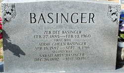 Addie <i>Gheen</i> Basinger