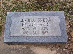 Marie Elmina Mama Mina <i>Breda</i> Blanchard