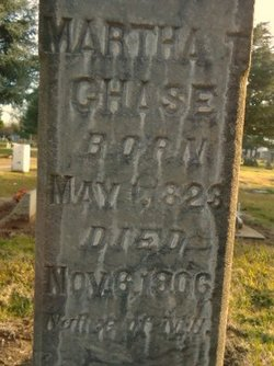 Martha T. <i>Clark</i> Chase