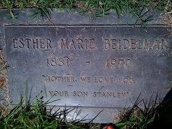 Esther Maria <i>Ericson</i> Beidelman