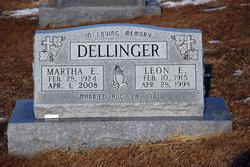 Martha Elizabeth <i>Brinker</i> Dellinger