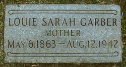 Mrs Louie Sarah <i>Noffsinger</i> Garber