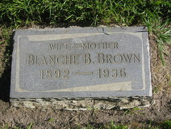 Blanche Isabell <i>Bates</i> Brown