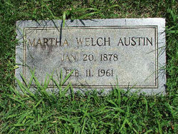 Martha Ellen <i>Welch</i> Austin