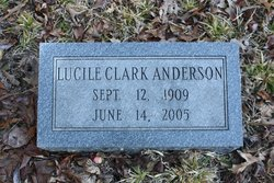 Lucile <i>Clark</i> Anderson