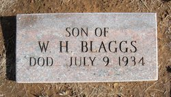 Son of W.H. Blaggs