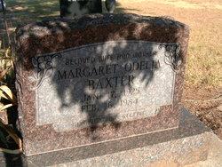 Margaret Odelia <i>McCabe</i> Baxter