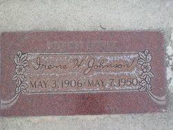 Irene Christine <i>Henrichsen</i> Johnson