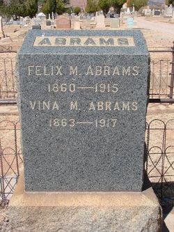 Vina M <i>Pearce</i> Abrams