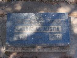 Carrie Willa <i>Frazee</i> Austin