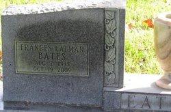 Frances Elizabeth <i>Langford</i> Bates