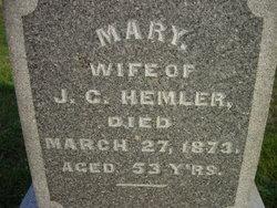 Mary Hemler