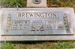 Agnes M <i>McClard</i> Brewington