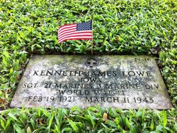 SGT Kenneth James Lowe
