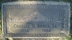 Charles D Brock, Sr