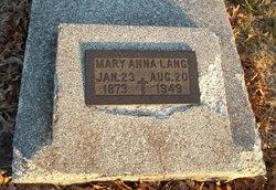 Mary Anna Lang