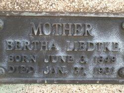 Bertha Liedtke