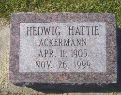 Hedwig Hattie Ackermann