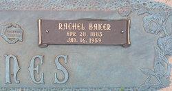 Rachel <i>Baker</i> Jones