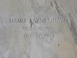 Mamie <i>Barnes</i> Davis