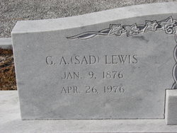 General Austin Sad Lewis