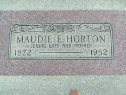 Maudie Ellen <i>Franklin</i> Horton