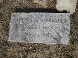 Katie <i>White</i> Alexander