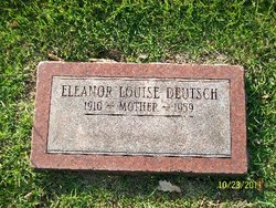 Eleanor Louise <i>Boldenweck</i> Deutsch