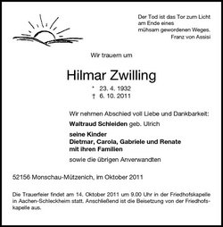 Hilmer Zwilling