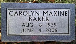 Carolyn Maxine <i>Brumley</i> Baker