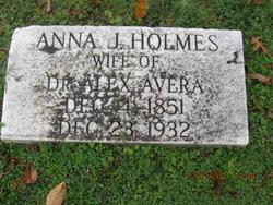 Anna Judson <i>Holmes</i> Avera