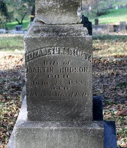 Elizabeth J. <i>McElroy</i> Hudson