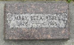 Mary Ella <i>Withers</i> Abbey
