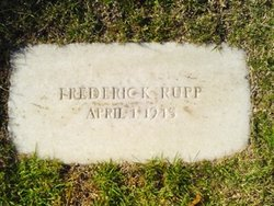 Frederick Rupp