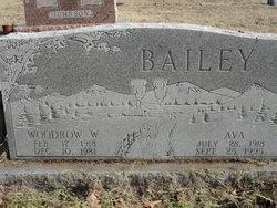 Ava <i>Wilkey</i> Bailey