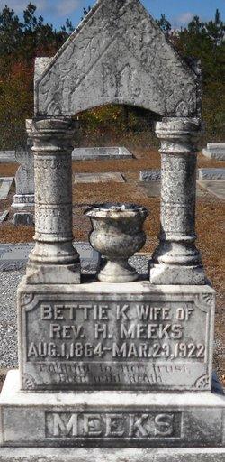 Elizabeth Bettie <i>Kirkland</i> Meeks