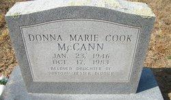 Donna Marie <i>Cook</i> McCann